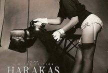 HARAKAS-OBJECTS / PINUP GIRLS LIGHTED BY HARAKAS