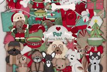 Dog Christmas / by Touched By A Butterfly