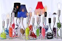 lampes bouteilles, lampes carafes / Souvent copiée jamais égalée, notre collection de lampes nomades est un must have pour tous les accros de la déco