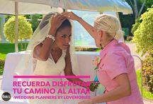 Wedding Planner / Este tablero describe maravilloso trabajo que hacemos al contruir un sueño de bodaenlaplaya