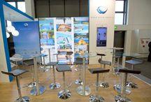 2015 ITB Berlin Aqua Vista Stand / Dylunio construye y diseña el stand de Aqua Vista en ITB Berlín 2015. Dylunio constructed and designed Aqua Vista Hotel Stand in ITB Berlín 2015