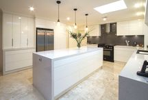 Eltham Kitchen and Bathroom / Our creative designer, Corey, has completely optimised the space in this kitchen and given our clients more storage than the know what to do with!