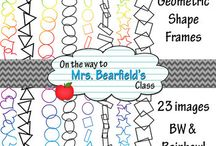 KristyBear Designs Frames and Borders / This board includes some of the frames and borders that I have created. All of which are available for commercial use.
