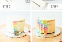 color for cake