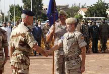 Misión Internacional en Mali / El general García-Vaquero en el acto en Bamako El general Alfonso García-Vaquero toma posesión como jefe de la Misión de Entrenamiento de la Un… http://wp.me/p2n0XE-3Fl vía @juliansafety #segurpricat