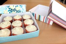 Box for Cakes-Cookies / Different pacaking styles and materials for cakes