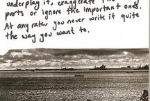 Writing / by Alexis Kiesel