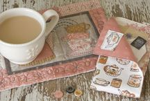 Mug rugs, coasters and placemats