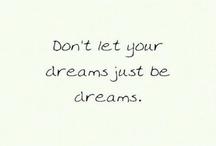 droom / om bij weg te dromen
