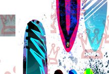 SUP boards & yolo boards // / by Cassidy Gray +