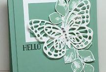 Butterfly Basics / Stamp Set en Butterfies Thinlits Dies