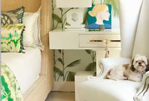 Tropical Home-Styling / Inspiration to achieve the perfect tropical look in your home this summer - and the In-Spaces products that will help!