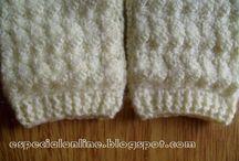 calças de crochê para bebê