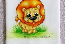 Bichinhos - 2013: Safari - Selva - Floresta... / Fraldas Personalizadas com motivos Safari, Selva, Floresta...