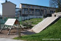 Our play spaces / Play spaces that Earth Wrights have designed and built.