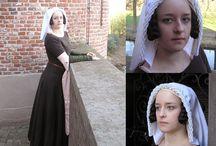 Dress 1350-1400 - Reconstructions