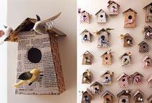 Bird houses / Paper