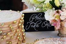 Handmade for wedding