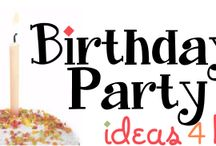 Birthday Ideas / Birthday Party Ideas for Kids, Tweens and Teens   Great for girls and boys ages 1, 2, 3, 4, 5, 6, 7, 8, 9, 10, 11, 12, 13, 14, 15, 16, 17 and 18 years old.  / by Birthday Party Ideas 4 Kids