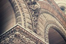 Natural Stone - Architectural Treasures / Details are the key elements of these great structures.