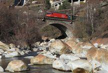 Spoorwegen Zwitserland