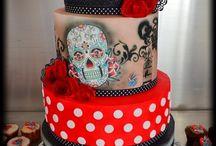 Gateau / cake rockabilly vintage