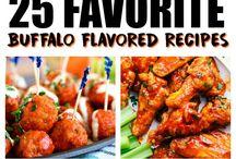Buffalo flavoured recipes