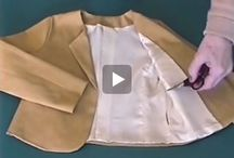 Voeren van jurken, jasjes en gilet (mouwloos vestje)