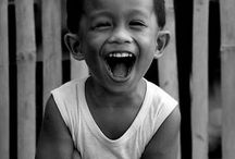 sourire et bonne humeur.
