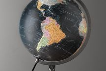 Collection~Maps and Globes / by Amanda Hutton-Hakkarainen