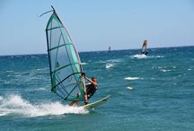 Windsurfing in Mavrovoyni Gythion / Windsurfing