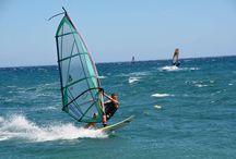 Windsurfing in Mavrovoyni Gythion / Windsurfing