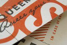 Reference // letterpress technique