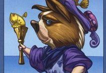 Tarot Page Cards / Page Cards from Various Tarot Decks