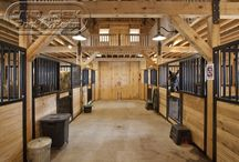 Horse Barns & Stables / Images and Pictures of equine horses that provide endless inspiration for the model horse scale versions