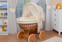 basket wicker baby