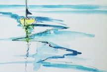 Watercolor, aquarell