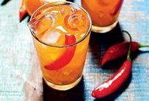 caipirinha de tangerina e pimenta