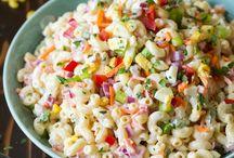 Salades d'ete et accompagnement