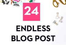 Blogging success and great ideas!