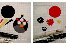 Angry birds / Angry birds birthday cake ideas