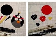 Angry birds / Angry birds birthday cake ideas