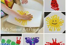 handprint activities / by Cindy Kloeck