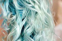 Craie cheveux