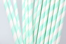 Paper Straws / Paper Straws from Confetti Place