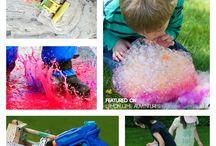 Kinder ideas - outdoors