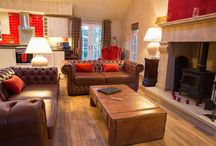 Douglas Fir Forest Lodge / Luxury self catering log cabin in Cheshire
