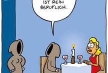 Deutschen Karikaturen