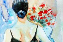 Luisa Dalartesa Artist / Illustrations _ Paintings