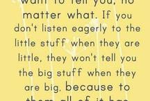 Mother wisdom / Motherhood tricks, tips & quotes